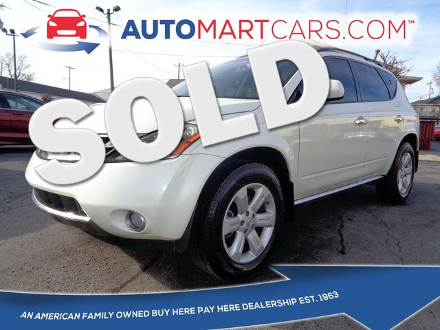 2007 Nissan Murano in Nashville Tennessee