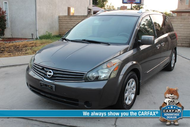 2007 Nissan QUEST SL 1-OWNER SERVICE RECORDS