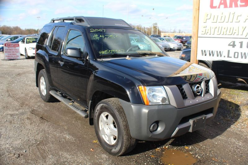 2007 Nissan Xterra S  city MD  South County Public Auto Auction  in Harwood, MD