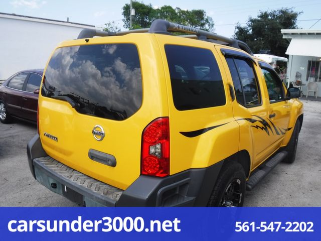 2007 Nissan Xterra S Lake Worth , Florida 3