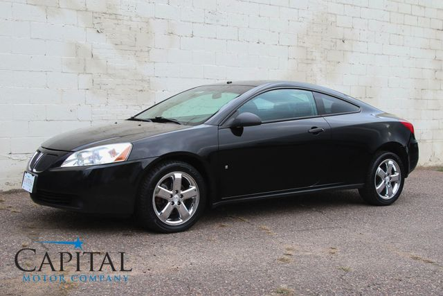 2007 Pontiac G6 GT V6 Coupe w/Power Moonroof, Premium Pkg, Heated Seats, Remote Start & Great Audio Sys in Eau Claire, Wisconsin 54703
