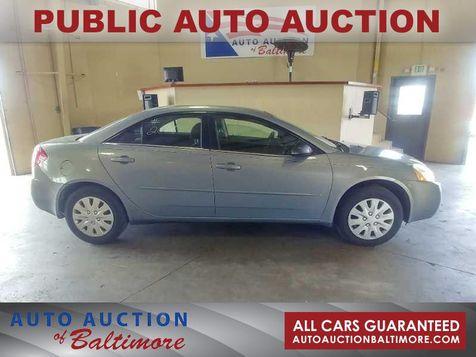 2007 Pontiac G6 1SV Value Leader | JOPPA, MD | Auto Auction of Baltimore  in JOPPA, MD