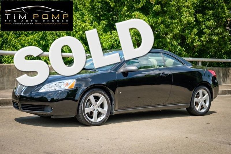 2007 Pontiac G6 GT | Memphis, Tennessee | Tim Pomp - The Auto Broker in Memphis Tennessee