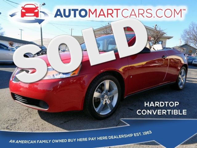 2007 Pontiac G6 GT | Nashville, Tennessee | Auto Mart Used Cars Inc. in Nashville Tennessee