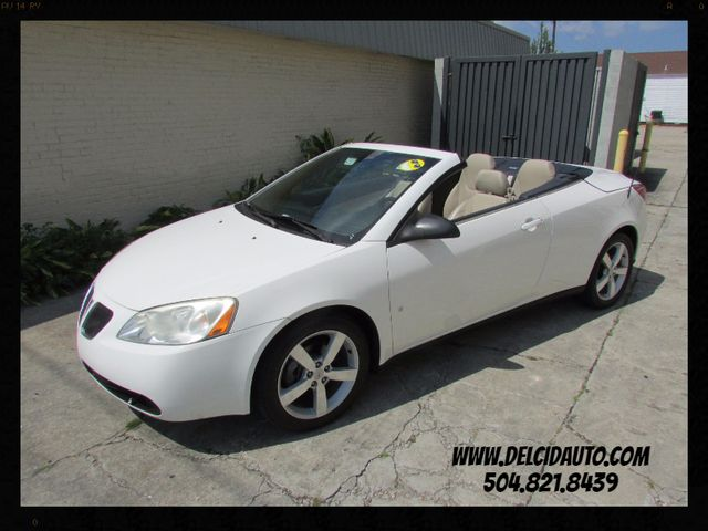 2007 Pontiac G6 GT CONVERTIBLE! LEATHER! CLEAN CARFAX!
