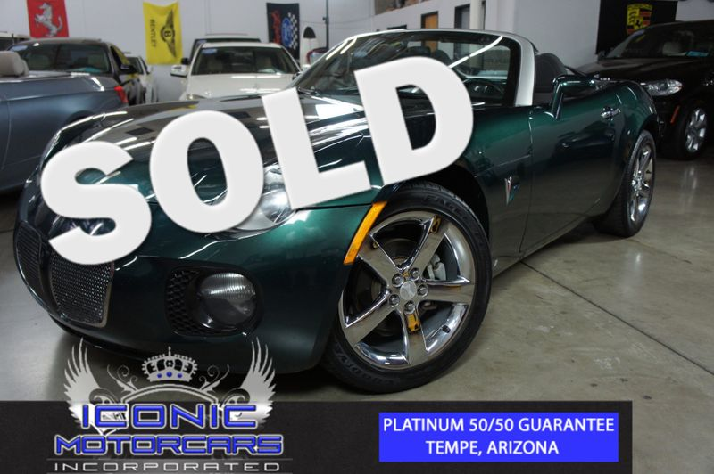2007 Pontiac Solstice GXP | Tempe, AZ | ICONIC MOTORCARS, Inc. in Tempe AZ