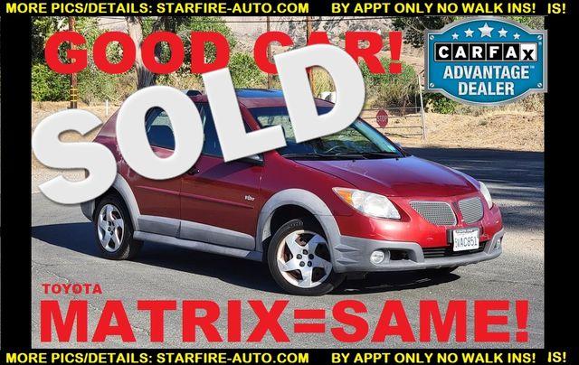 2007 Pontiac Vibe SAME AS MATRIX Santa Clarita, CA 0