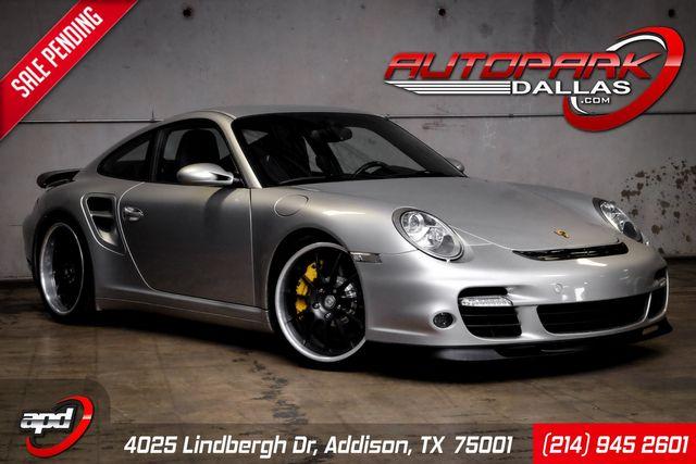 2007 Porsche 911 Turbo BIG TURBO, HRE, Carbon Ceramic, Fabspeed