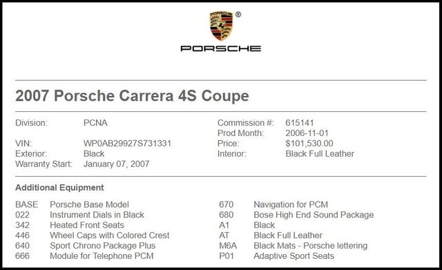 2007 Porsche 911 Carrera 4S-[ 2 ]