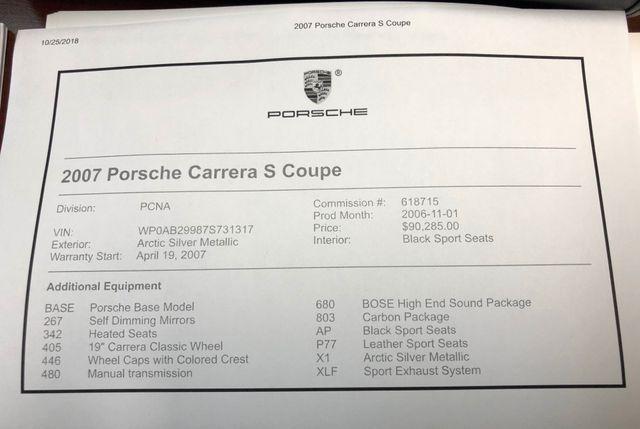 2007 Porsche 911 Carrera S Longwood, FL 45