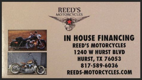 2007 Reeds Motorcycles BAD CREDIT, NO PROBLEM Stop Getting Leased To Death | Hurst, Texas | Reed's Motorcycles in Hurst, Texas