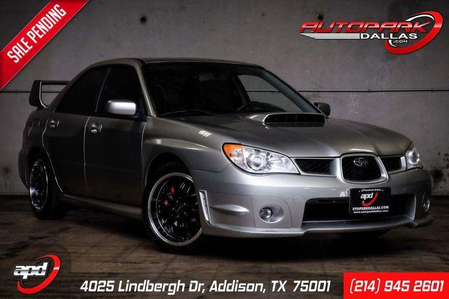 2007 Subaru Impreza WRX Ltd