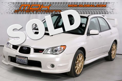 2007 Subaru Impreza WRX STI - stock - 1 owner - pearl white in Los Angeles