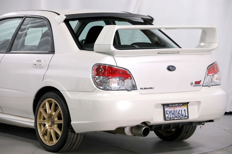 2007 Subaru Impreza WRX STI - stock - 1 owner - pearl white  city California  MDK International  in Los Angeles, California