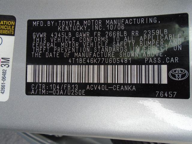 2007 Toyota Camry LE in Alpharetta, GA 30004