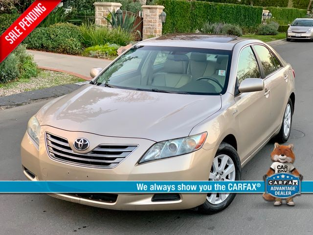 2007 Toyota CAMRY HYBRID SEDAN NAVIGATION LEATHER NEW TIRES SERVICE RECORDS
