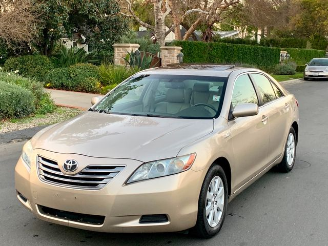 2007 Toyota CAMRY HYBRID SEDAN NAVIGATION LEATHER NEW TIRES SERVICE RECORDS in Van Nuys, CA 91406