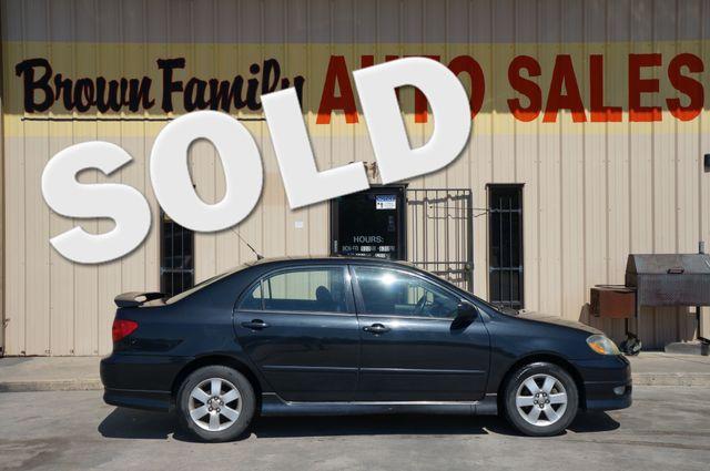 2007 Toyota Corolla CE | Houston, TX | Brown Family Auto Sales in Houston TX