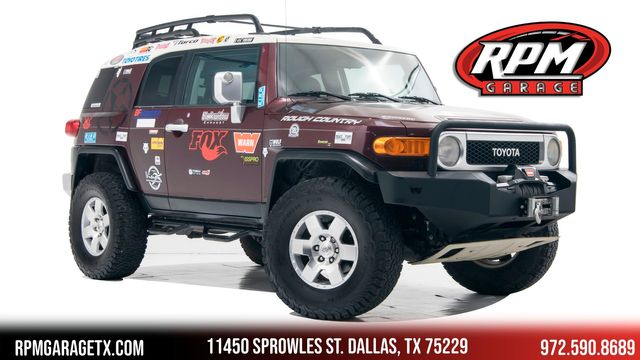 2007 Toyota FJ Cruiser 6speed Manual 1 Owner with Upgrades