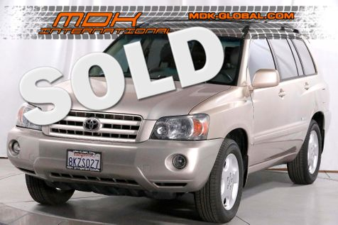 2007 Toyota Highlander Limited w/3rd Row - V6 - Heated seats in Los Angeles