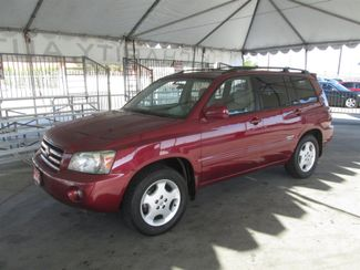 2007 Toyota Highlander Limited w/3rd Row Gardena, California