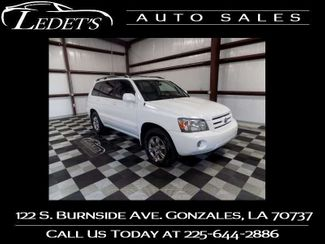 2007 Toyota Highlander Sport - Ledet's Auto Sales Gonzales_state_zip in Gonzales