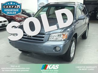 2007 Toyota Highlander Limited 4WD Kensington, Maryland