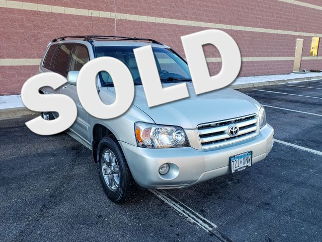 2007 Toyota Highlander w/3rd Row Maple Grove, Minnesota