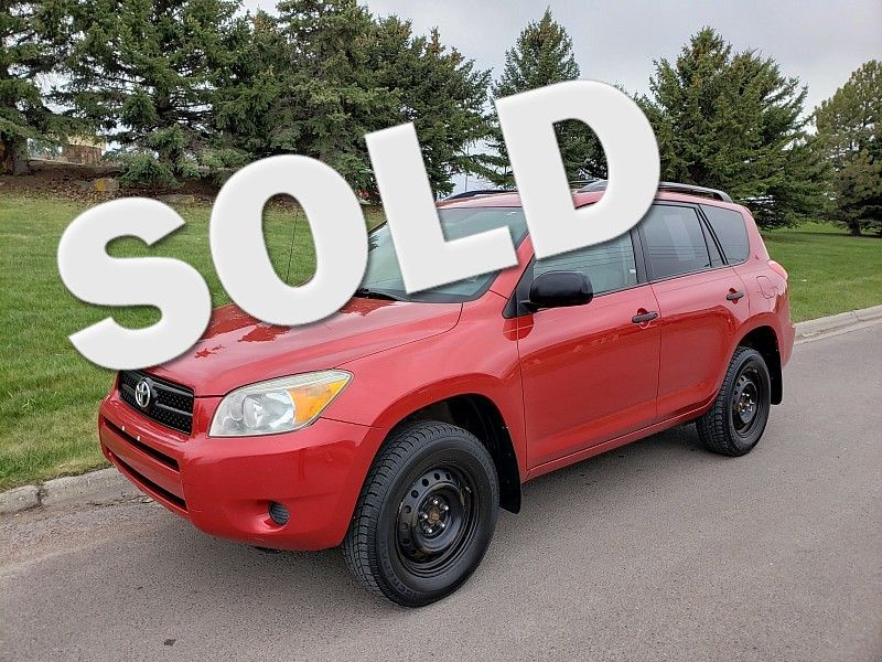2007 Toyota RAV4 4d SUV FWD  city MT  Bleskin Motor Company   in Great Falls, MT