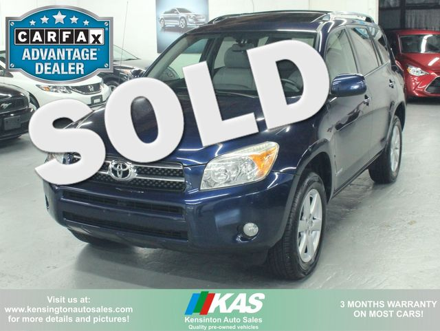 2007 Toyota RAV4 Limited 4WD Kensington, Maryland 0