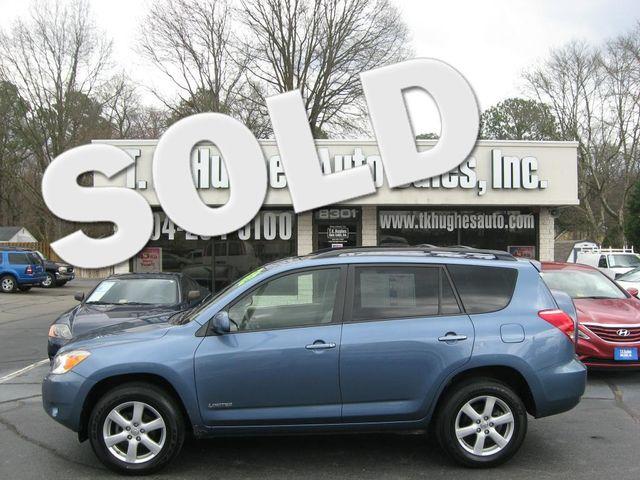 2007 Toyota RAV4 Limited AWD Richmond, Virginia