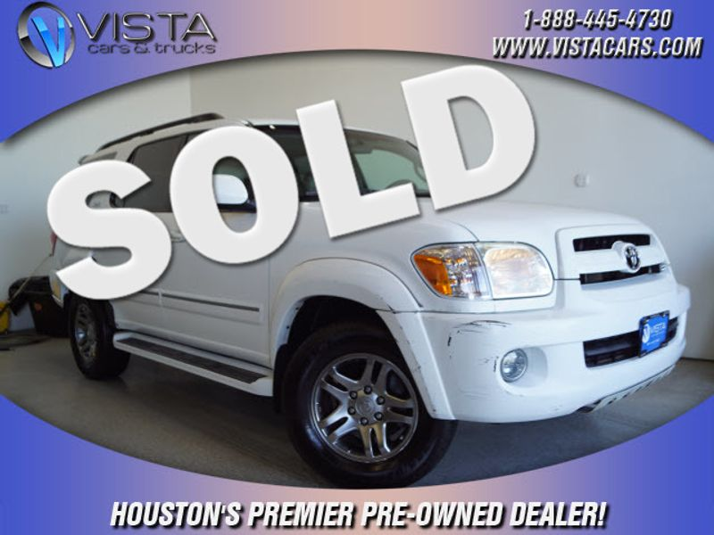 2007 Toyota Sequoia SR5  city Texas  Vista Cars and Trucks  in Houston, Texas
