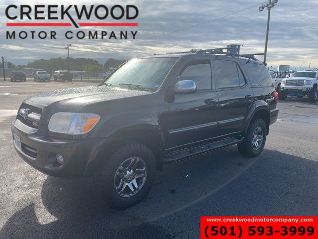 2007 Toyota Sequoia Limited 4x4 Lifted Black Nav Roof Tv Dvd BFG Tires