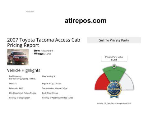 2007 Toyota Tacoma  in Salt Lake City, UT