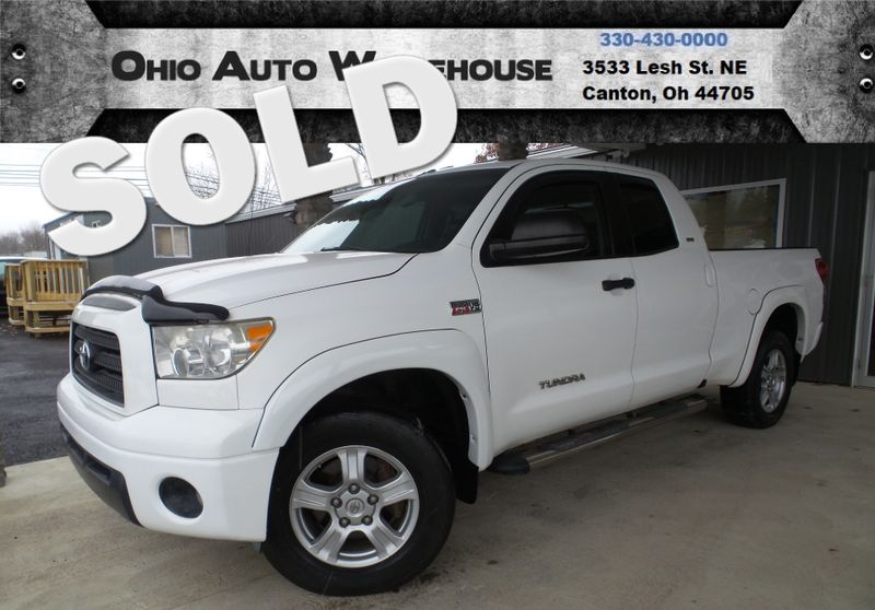 2007 Toyota Tundra SR5 4x4 V8 Double Cab We Finance | Canton, Ohio | Ohio Auto Warehouse LLC in Canton Ohio