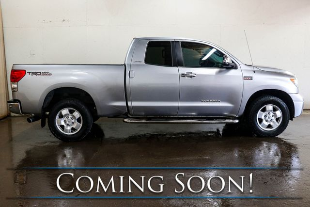 2007 Toyota Tundra Limited Double Cab 4x4 w/5.7L V8, TRD Off-Road Pkg, Heated Seats, Backup Cam & Tow Pkg in Eau Claire, Wisconsin 54703