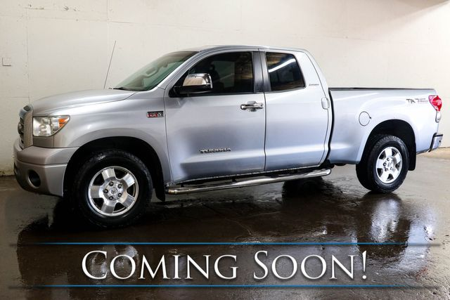 2007 Toyota Tundra Limited Double Cab 4x4 w/5.7L V8, TRD Off-Road Pkg, Heated Seats, Backup Cam & Tow Pkg