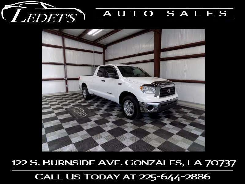 2007 Toyota Tundra SR5 - Ledet's Auto Sales Gonzales_state_zip in Gonzales Louisiana
