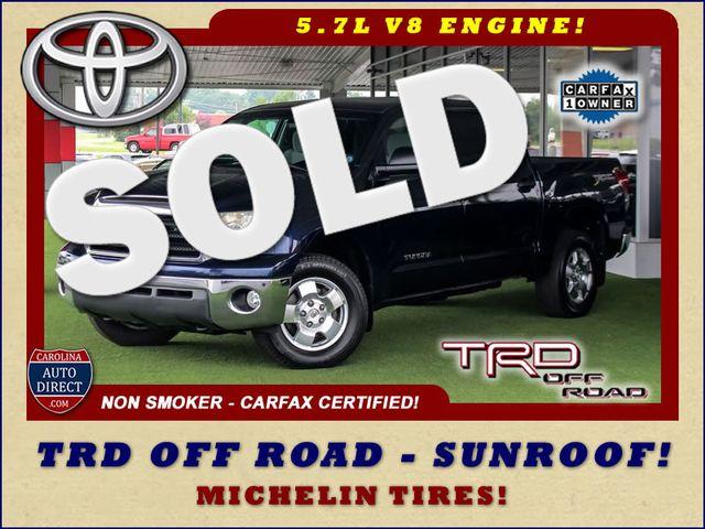 2007 Toyota Tundra SR5 CrewMax RWD - TRD OFF ROAD  - SUNROOF! Mooresville , NC 0