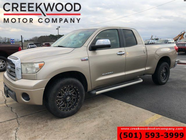 2007 Toyota Tundra Limited 2WD Double Cab TRD Leather Low Miles