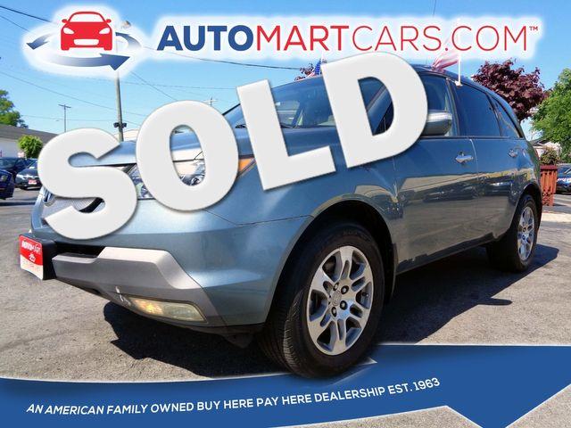 2008 Acura MDX  | Nashville, Tennessee | Auto Mart Used Cars Inc. in Nashville Tennessee