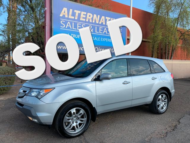 2008 Acura MDX Tech AWD 3 MONTH/3,000 MILE NATIONAL POWERTRIAN WARRANTY Mesa, Arizona