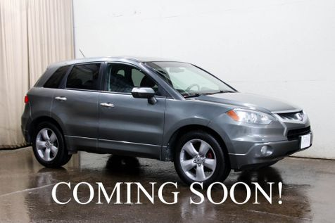 2008 Acura RDX Turbo AWD Luxury Crossover w/Technology Pkg, Navigation, Backup Cam, Heated Seats & Xenons in Eau Claire