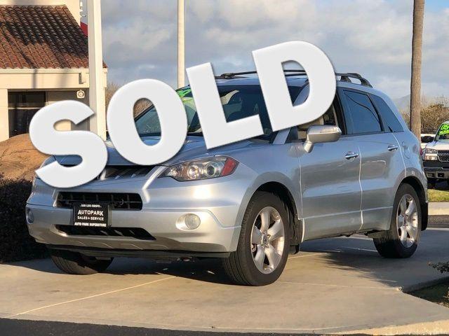 2008 Acura RDX Tech Pkg   San Luis Obispo, CA   Auto Park Sales & Service in San Luis Obispo CA