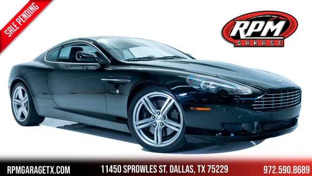 2008 Aston Martin DB9 Coupe $180k MSRP
