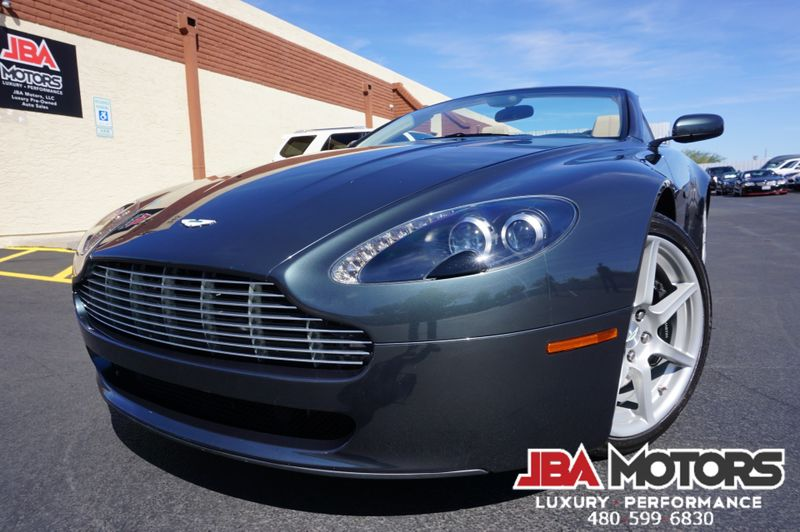2008 Aston Martin Vantage Convertible Roadster ~ Clean CarFax ~ LOW MILES   MESA, AZ   JBA MOTORS in MESA AZ