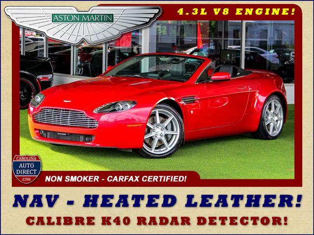 2008 Aston Martin Vantage NAVIGATION - HEATED LEATHER - RADAR DETECTOR! Mooresville , NC 0