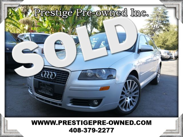 2008 Audi A3 2.0T ((**6-SPEED MANUAL**))--NAVIGATION/LEATHER  in Campbell CA