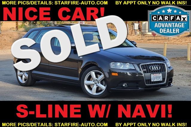 2008 Audi A3 S-LINE W/ NAV AND ROOF