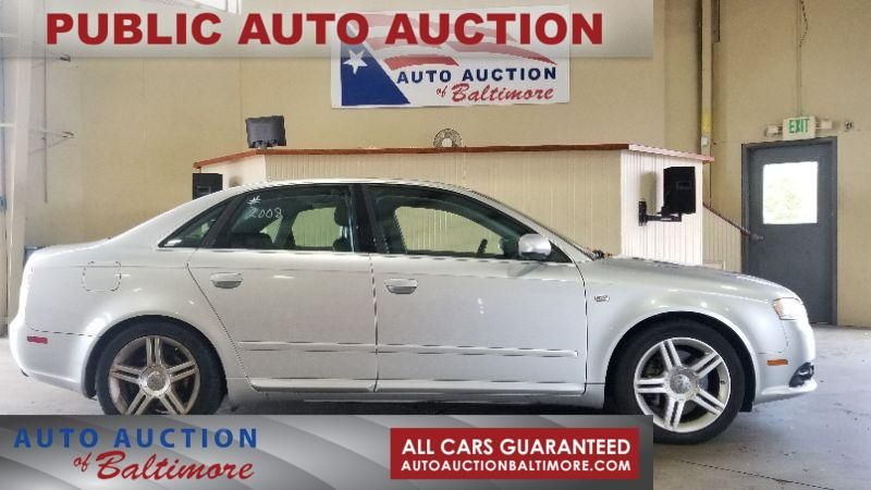 2008 Audi A4 2.0T   JOPPA, MD   Auto Auction of Baltimore  in JOPPA MD